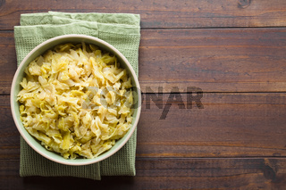 Braised White Cabbage