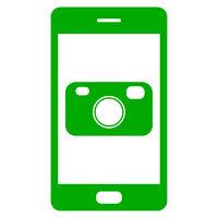 Kamera und Smartphone - Camera and smartphone