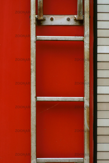 Fire truck ladder