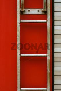 Feuerwagen Leiter