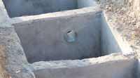 Building a new house for tourism - Resevoir for the toilet - Madagascar