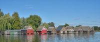 idyllic Place in Mecklenburg Lake district near Roebel/Mueritz,Mecklenburg western Pomerania,Germany