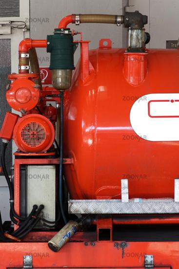 Water Tank Small fire truck