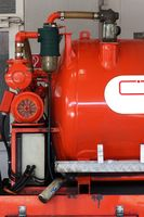Water Tank Small fire truck