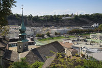 Salzburg - View from the Kapuzinerberg, Austria