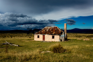 Old hut in Kosciuszko National Park