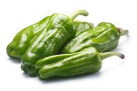 Friggitelli, pepperoncini or Greek peppers, paths