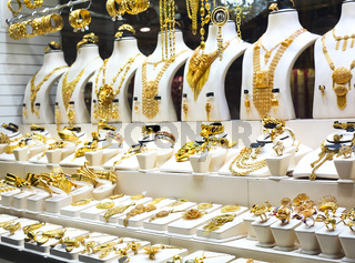 Gold market in Sharjah City