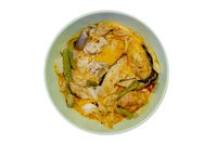 Vegetables curry rice