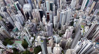 Top view of Hong kong, Kowlon