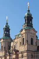 Church St.Nikolaus in Prague