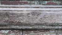 Close-up detail of a grunge old door