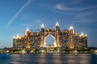Atlantis The Palm and the monorail, Dubai, UAE