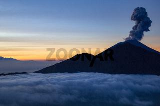 Vulkanausbruch Indonesien
