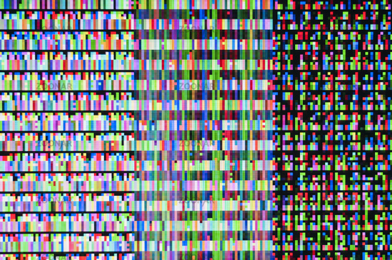 Abstract background, pattern of a digital glitch.