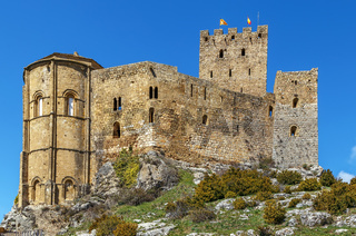 Castle of Loarre, Aragon, Spain