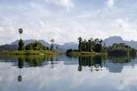 Floating Huts, Khao Sok National Park Thailand