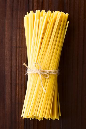 Raw Fettuccini Pasta