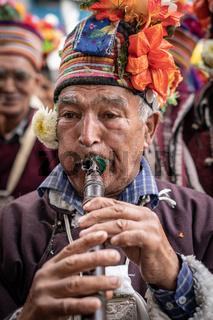 Musician in Ladakh