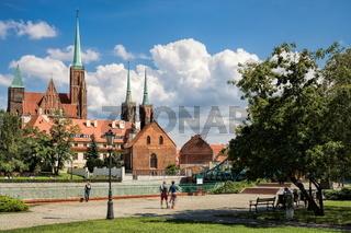 Wroclaw, Martinikirche und Kathedrale