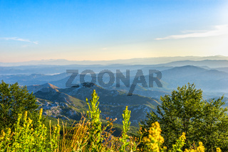 Mountain range of Montenegro