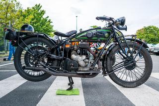 Motorcycle of D-Rad R-O/4, 1924.