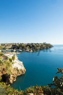 Rugged Coastline Harbor Meditteranean Antalya V