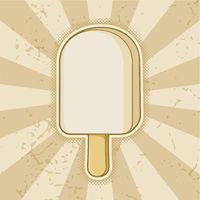 White Chocolate Ice Cream Stick
