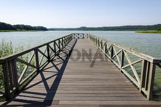 Steg am Schmachter See, Binz