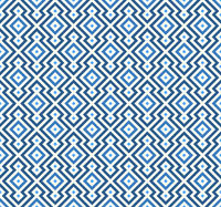 Seamless rhombus background in geometric style and blue tones.