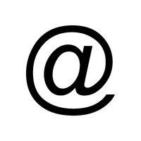 E-mail symbol und Hintergrund - E-mail symbol and background