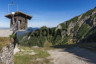 Weather station on Tegelberg horizontal