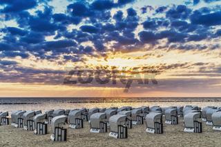 Strandkörbe   Beach chairs