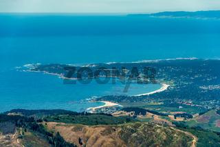 Carmel By The Sea Aerial Photo