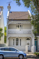 a typical terrace house in Sydney Australia