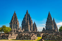Prambanan temple near Yogyakarta, Java island, Indonesia