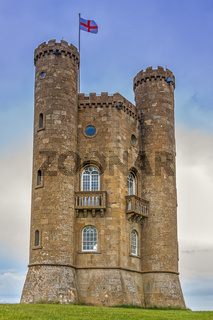 The Broadway Tower, The Cotswolds,Worcestershire, UK