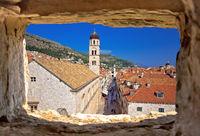 Dubrovnik. Famous Stradun street in Dubrovnik view