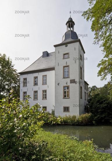 Haus Voerde in Lower Rhine region, Voerde, Ruhr area, North Rhine-Westphalia, Germany, Europe