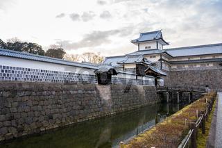 Kanazawa, Japan - February 14, 2019: