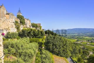 Alte Ortschaft in der Provence