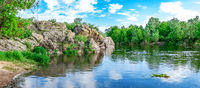 South Bug River near the village of Migiya, Ukraine
