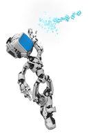 Blue Screen Robot, Data Box Catch