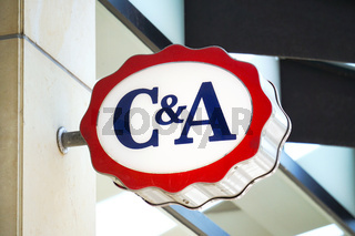 C&A fashion chain store logo