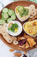Hummus and dips