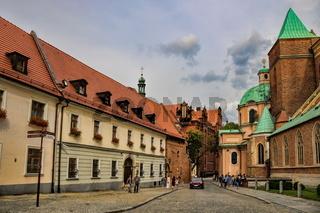 Wroclaw, Kathedrale und Ägidienkirche