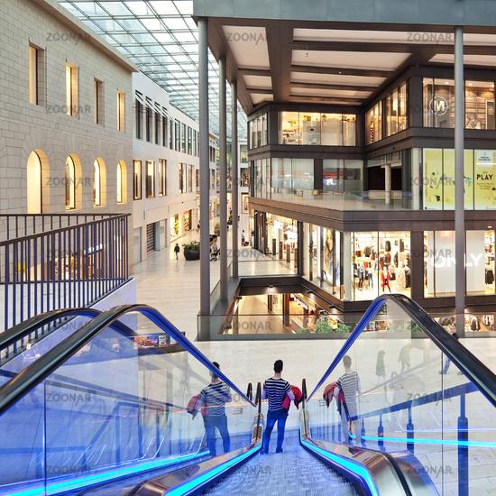 Forum shopping mall, Duisburg, Ruhr Area, North Rhine-Westphalia, Germany, Europe