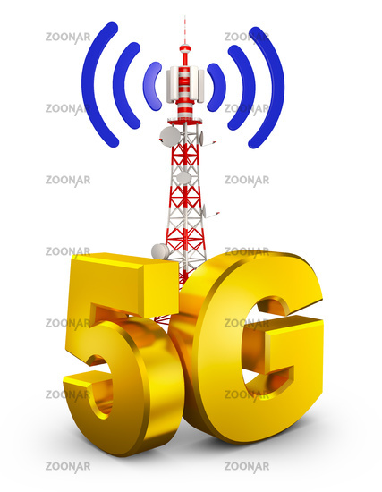 5G and tower