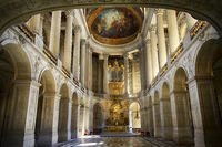 Royal Chapel of Versailles Palace, Paris