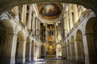 Royal Chapel of Versailles Palace, Paris